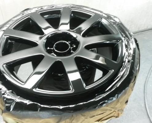 Audi TT Gloss Black